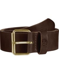 Fjallraven Singi 4.0cm Belt - Brown