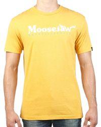 Moosejaw Original Vintage Regs Ss Tee - Yellow