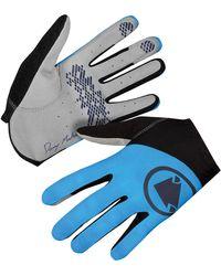 Endura Hummvee Lite Icon Glove - Blue