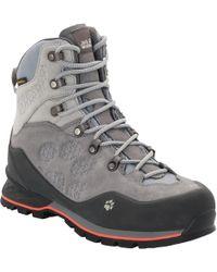 Jack Wolfskin Wilderness Texapore Mid W Mountaineering Boot - Gray