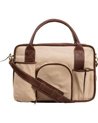United By Blue Sutter's Mill Tool Bag - Brown