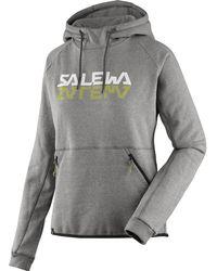 Salewa Reflection Dry Hoody - Gray