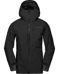 Norrøna Lofoten Gore-tex Insulated Jacket - Black