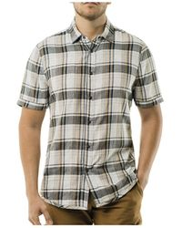 Jeremiah - Hermosa Ss Reversible Woven Shirt - Lyst