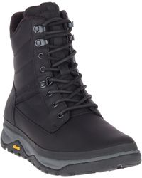 440abe5370a Keen Durand Polar Shell 200g Waterproof Winter Boots in Black for ...