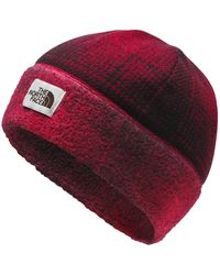 The North Face Sweater Fleece Beanie - Red