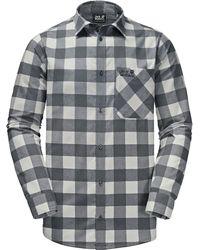 Jack Wolfskin Red River Shirt - Gray