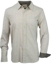 Purnell Pinstripe Button Up Ls Shirt - Multicolor
