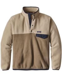 Patagonia - Lightweight Synchilla Snap-t Pullover - Lyst