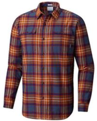 4fb1cca9 adidas Originals Skateboarding Stretch Flannel Shirt in Red for Men - Lyst
