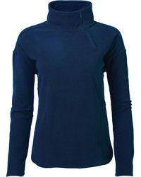 Mountain Khakis Pop Top Qtr Zip Jacket - Blue