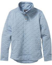 Marmot Roice Pulllover Ls Top - Blue