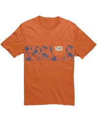 Howler Brothers Classic Pocket T-shirt - Orange