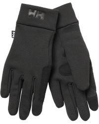 Helly Hansen Fleece Touch Glove Liner Black