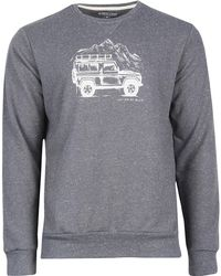 United By Blue Adventure Mobile Crew Pullover - Gray