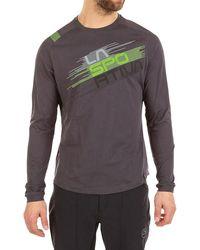 La Sportiva Stripe Evo Ls Top - Gray
