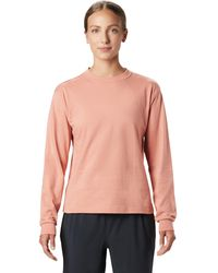 Mountain Hardwear Hand/hold Ls Tee - Pink