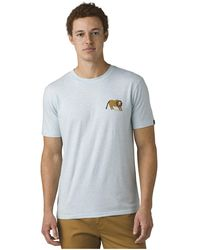 Prana Roots Studio Lions Den T-shirt - Blue