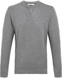 tasc Performance Tasc Legacy Crew Neck Sweatshirt - Gray