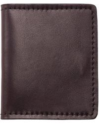 Filson Cash And Card Case - Brown