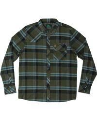 HippyTree Newton Flannel Shirt - Green