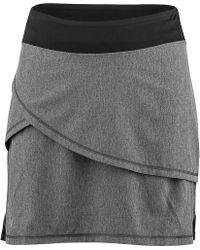 Louis Garneau Bormio Skirt - Gray