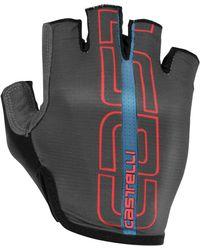Castelli Tempo Glove - Gray