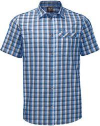 Jack Wolfskin Napo River Shirt - Blue