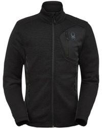 Spyder Bandit Full Zip Jacket - Black