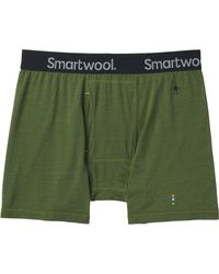 Smartwool Merino 150 Pattern Boxer Brief - Green