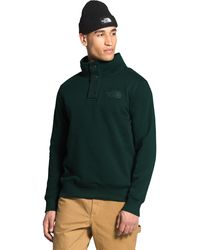 The North Face - 1/4 Snap Fleece Pullover - Lyst