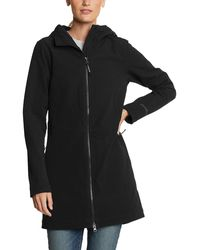 Eddie Bauer Windfoil Thermal Trench - Black