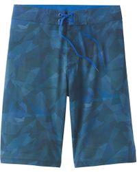 Prana Sediment 11in Short - Blue