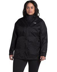 The North Face Plus Size Venture 2 Jacket - Black