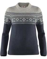 Fjallraven - Ovik Scandinavian Sweater - Lyst