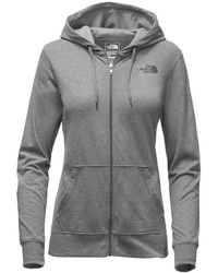 The North Face - Lightweight Tri-blend Full Zip Hoodie - Lyst