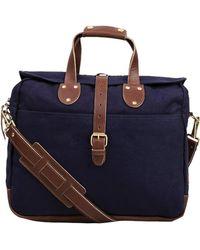 United By Blue Lakeland Laptop Bag - Blue