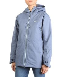 Under Armour Ua Coldgear Infrared Revy Insulated Jacket - Blue