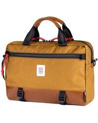 Topo Commuter Briefcase - Brown