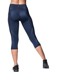 CW-X - Stabilyx Joint Support Compression Tights - Lyst