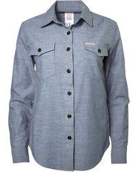 Topo Designs Mountain Shirt Chambray - Blue