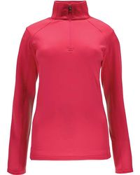 Spyder - Savona Therma Stretch T-neck Top - Lyst