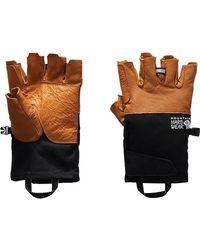 Mountain Hardwear Route Setter Fingerless Glove - Black