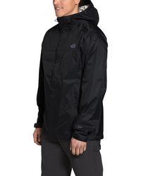 The North Face Venture 2 Jacket Tall Coat - Black