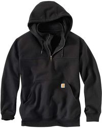 Carhartt | Rain Defender Paxton Heavyweight Hooded Zip Mock Sweatshirt | Lyst