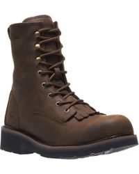 """Wolverine - Ranchero Steel-toe 8"""" Construction Boot, Brown, 7 Extra Wide Us - Lyst"""