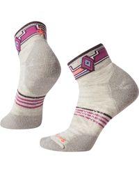 Smartwool Phd Outdoor Light Pattern Mini Sock - Multicolor