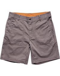 Howler Brothers Clarksville Walk Short - Gray