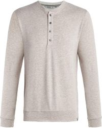 tasc Performance Legacy Heathered Henley - Natural