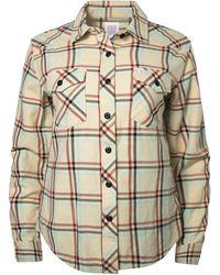 Topo Designs Mountain Shirt Plaid - Natural